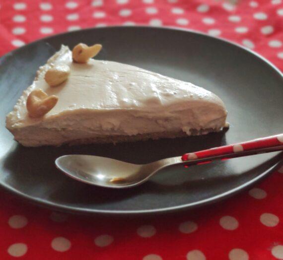 Cheesecake z kešu ořechů